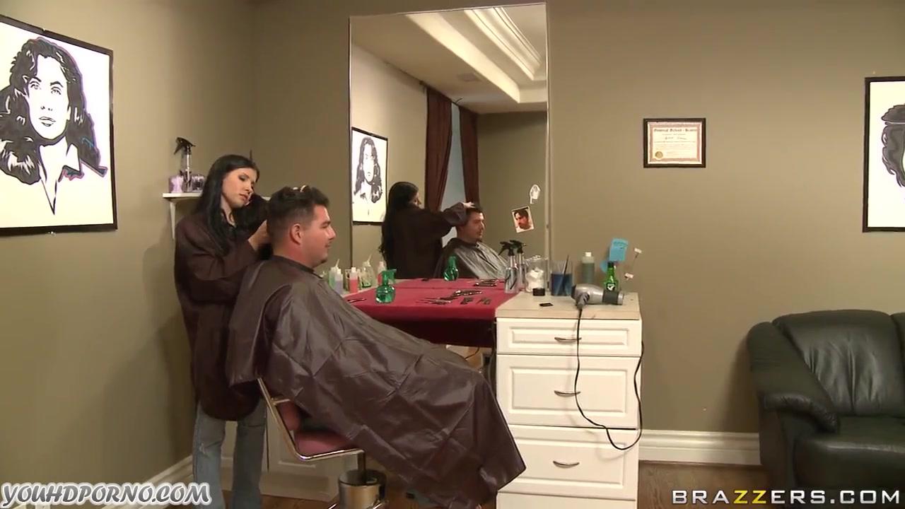 Порно в парикмахерской минет фото 316-975
