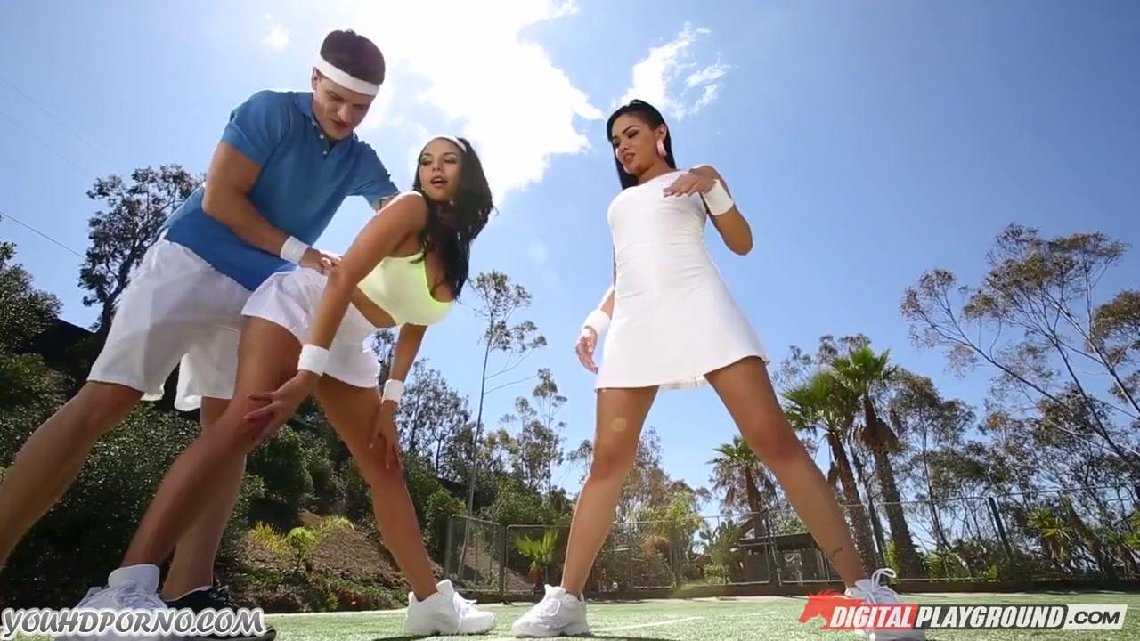 Сексна теннисном корте онлайн фото 670-188