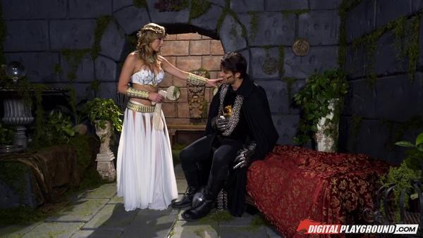 Герои Меча да Магии (XXX пародия): Бретт Росси равным образом идеал Темной Королевы