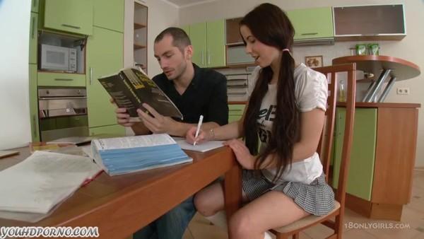русская девушка дала себя отрахать